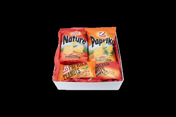 Dose XL - Chips- und Nuss-Mix